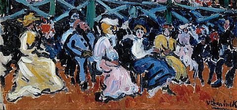 Maurice de Vlaminck, Longchamps, 1905 (detail)