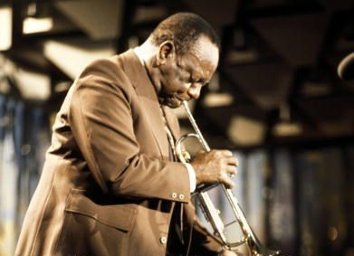Cootie Williams, Montreux jazz fest 11 juillet 1976 (detail) by Andrew Putler (Redferns)